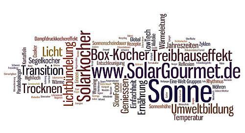 Wortfeld Solarkocher