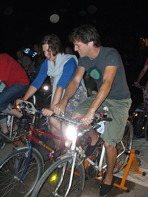 Fahrradkino im Odonien
