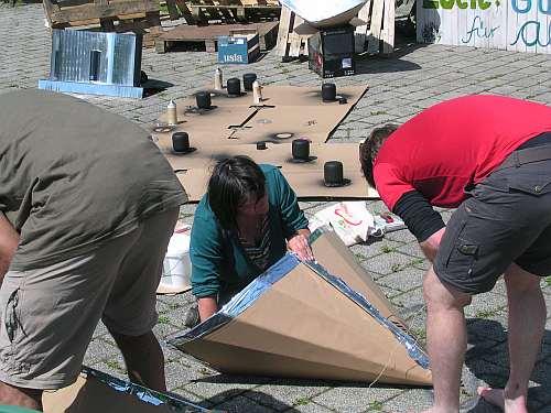 Bremen Solarkocher auf dem Lucie-Flechtmann-Platz